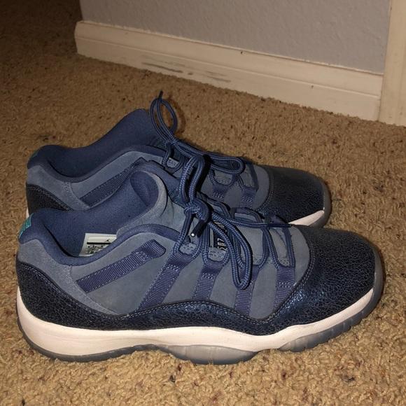 Jordan Shoes Air 11 Retro Low Gs Blue Moon Poshmark